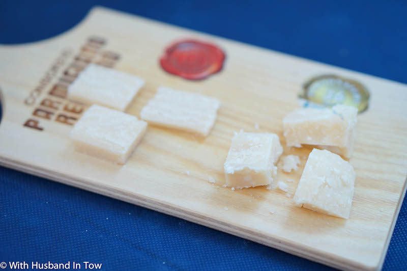 Tasting aged cheese around Modena with Discover Ferrari