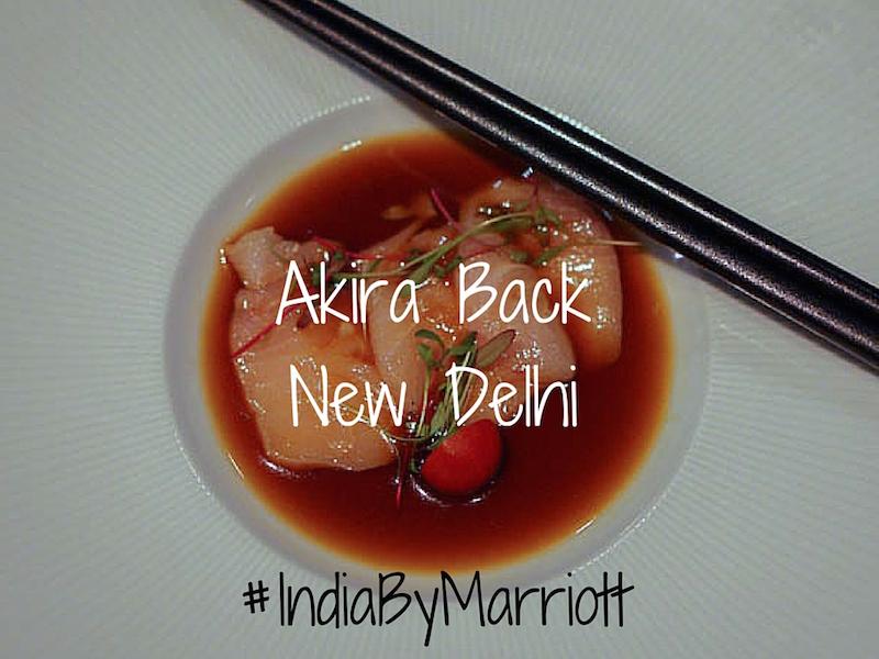 Akira Back New Delhi
