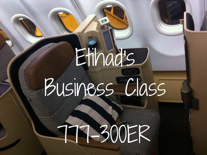 Etihad Business Class