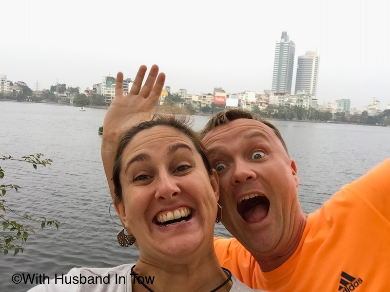 With Husband In Tow Hanoi