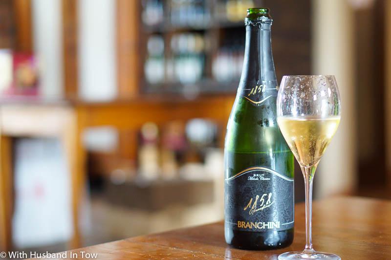 Branchini Albana wine