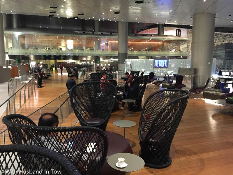 Qatar Business Class Lounge Doha