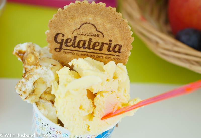 Tasting gelato at Italy's Carpigiani Gelato University