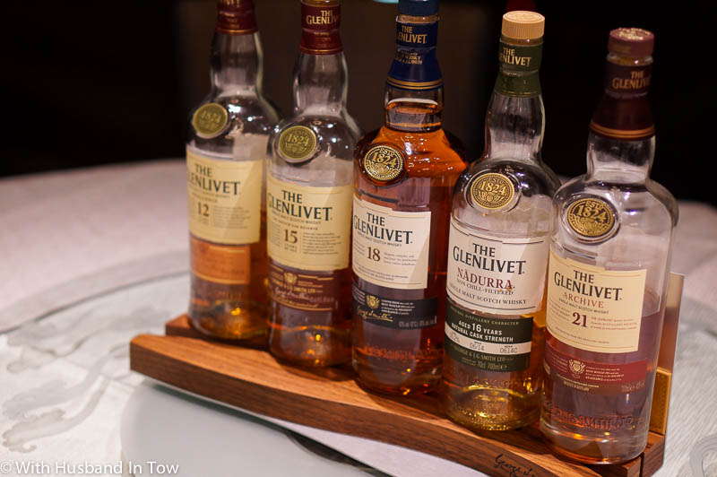 whisky pairing dinner