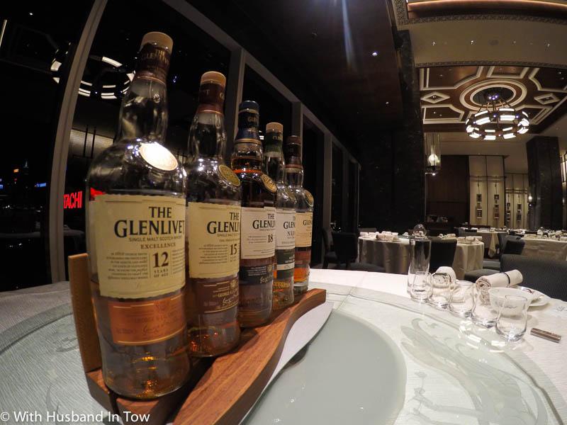 Dynasty whisky pairing dinner