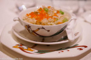 fried rice at Dynasty Hong Kong