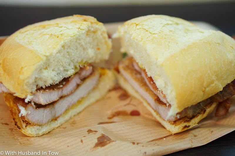 Macau Pork Chop Bun