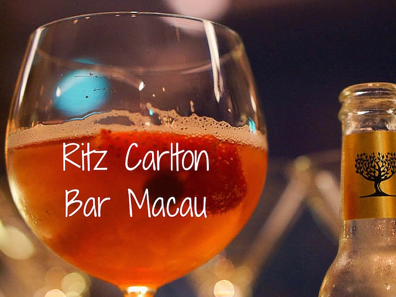 Ritz Carlton Bar Macau