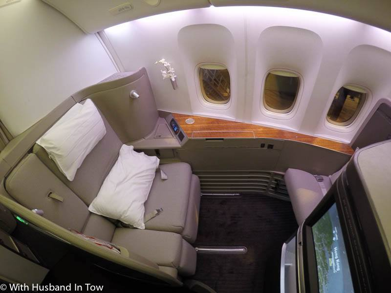 cathay pacific 1st class