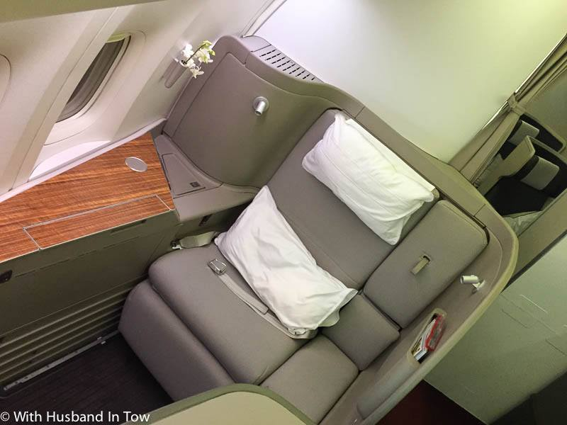 Cathay Pacific First Class review 777