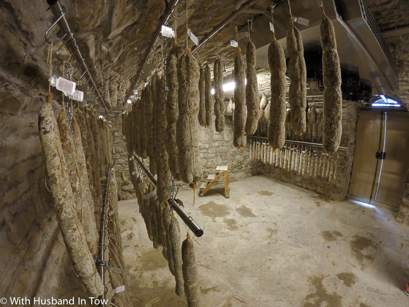 Italian Meat Cellar