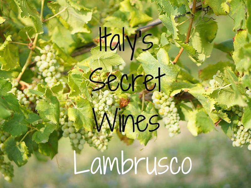 Lambrusco Emilia Romagna