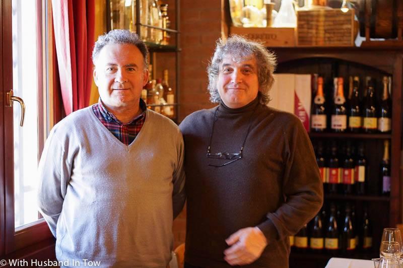 Drinking Italian Negretto wine in Emilia Romagna