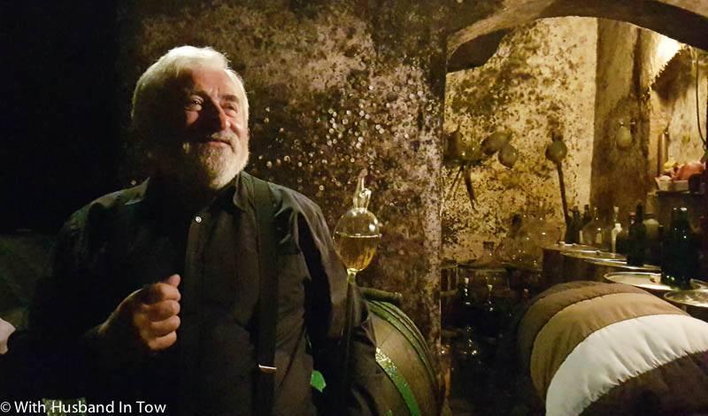 Czech Wine maker in Mikulov