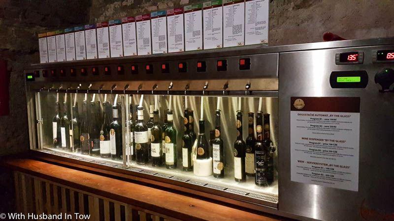 Czech Wine Centre in Valtice