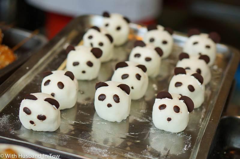 Panda Dumplings - Jin Li Chengdu Food Street
