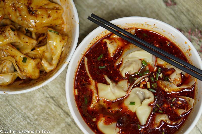 Chengdu Street Food on Jin Li Street