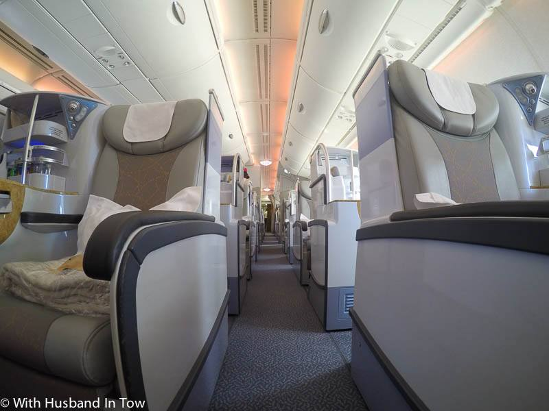 Emirates Business Class 21