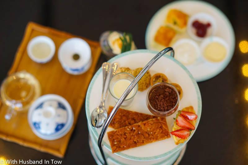 afternoon tea in Chengdu