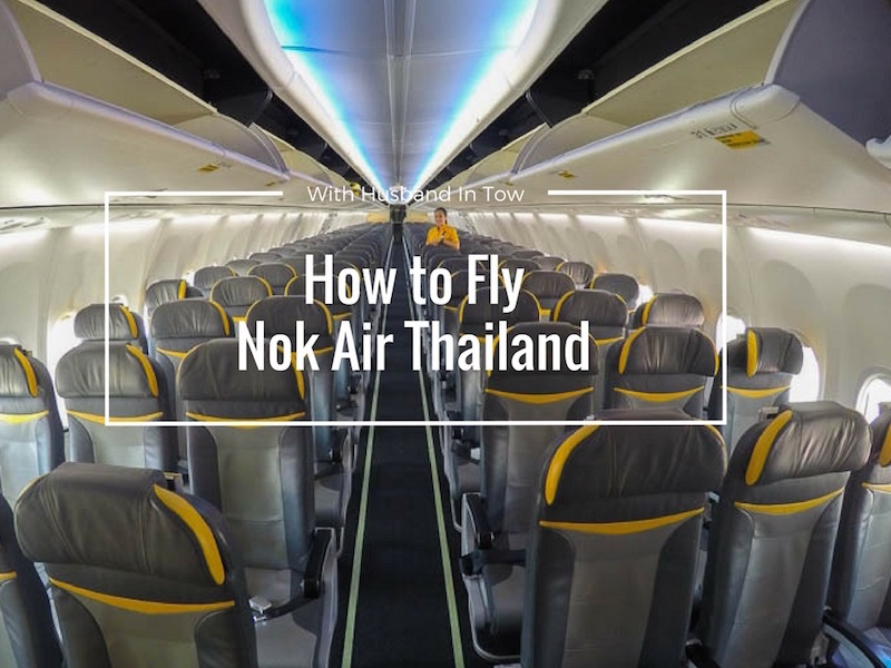 How to Fly Nok Air Thailand