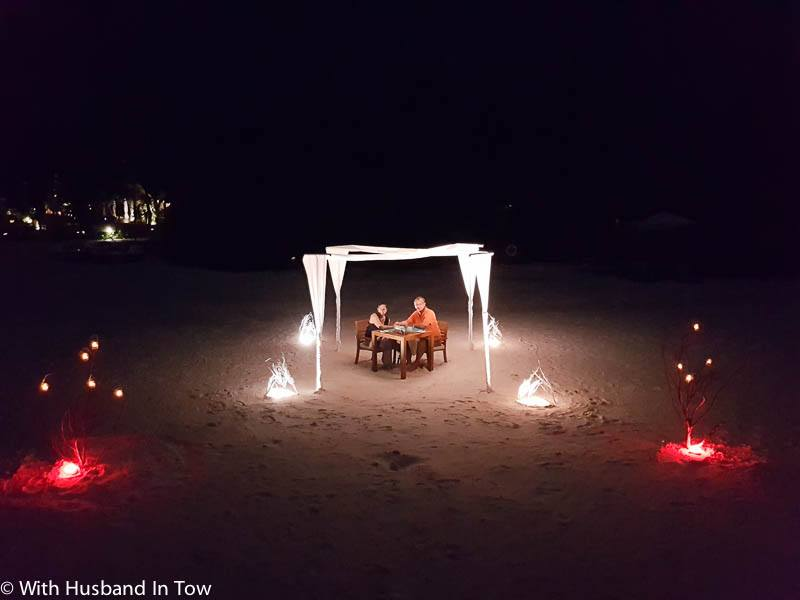 Maldives Activities - Sunset Dinner on the beach