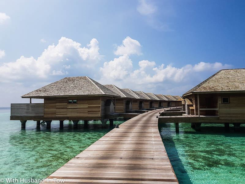 overwater villa the Maldives