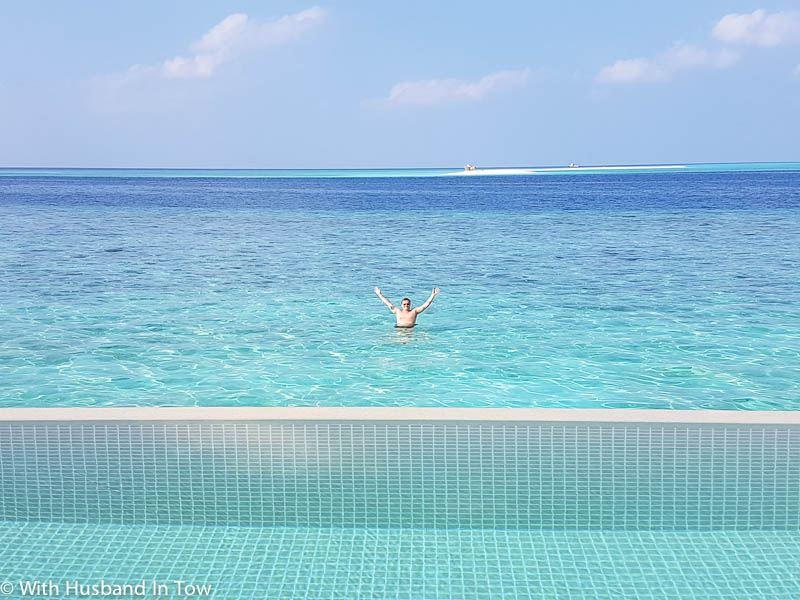 overwater villa the Maldives - maldives water villa blog