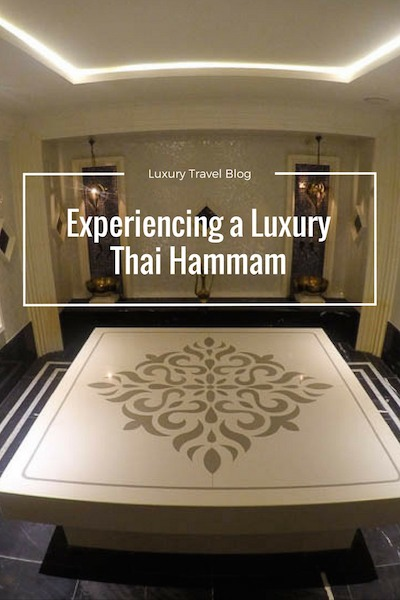 Luxury Thai Hammam Amatara Phuket