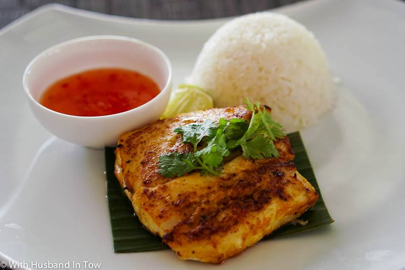 Outrigger Maldives Grilled Fish