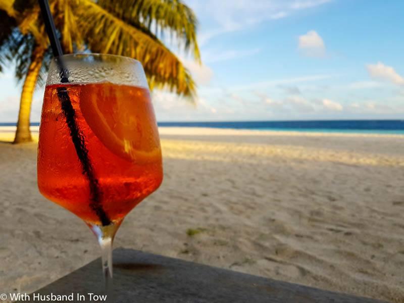 beach front villa Outrigger Maldives