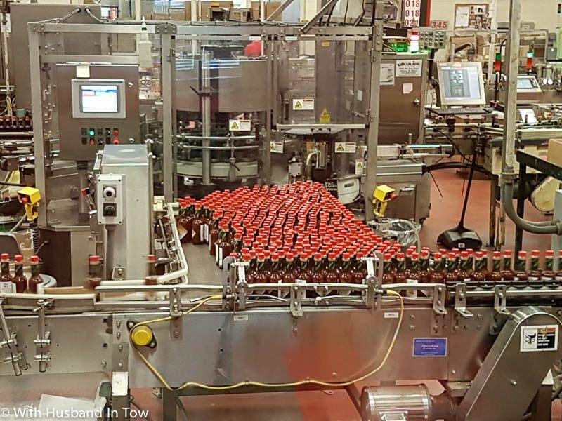 Tabasco factory tour avery island