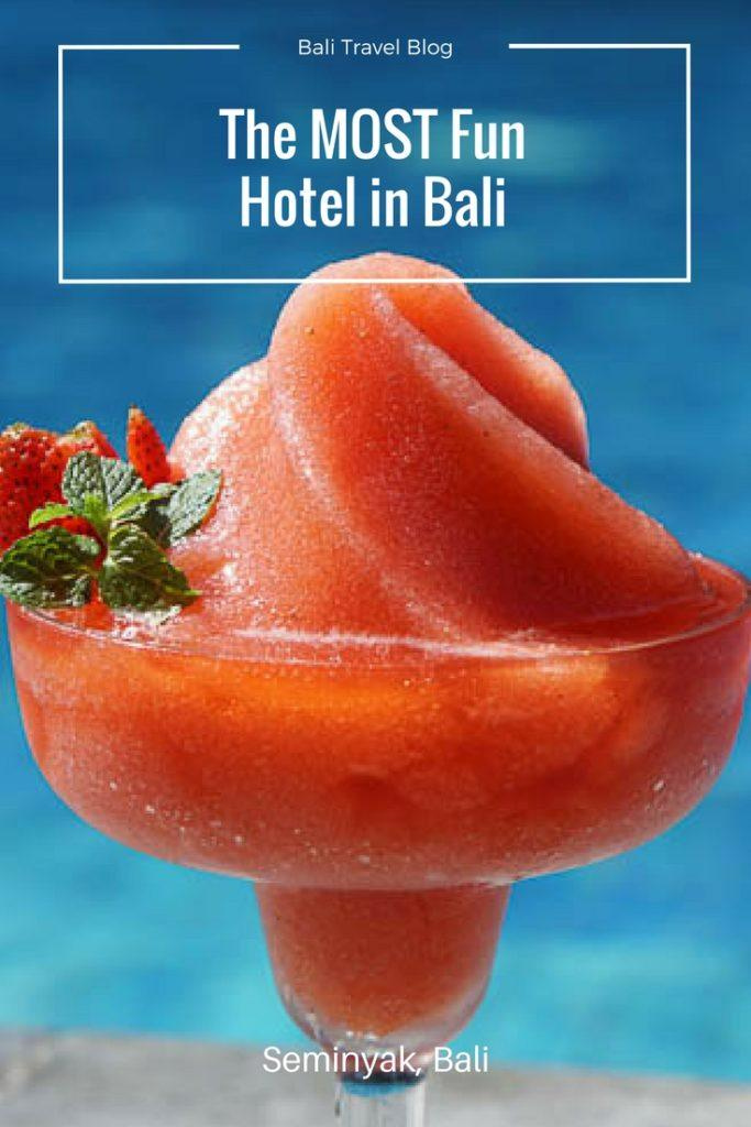 The Most Fun Hotel in Seminyak Bali