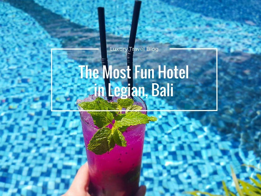 Most Fun Hotel in Legian The Stones Hotel