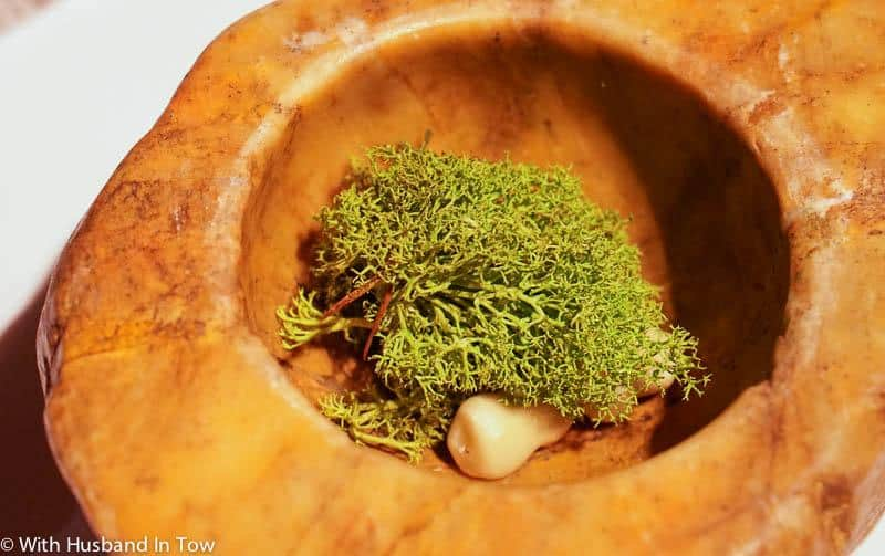 El Celler Can Roca Girona Menu - St George's Mushrooms