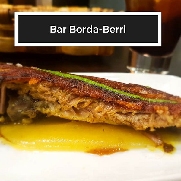 best pintxos bars in San Sebastian - Bar Borda-Berri