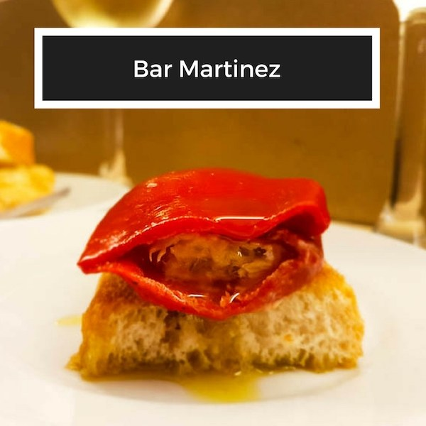 Bar Martinez in San Sebastian