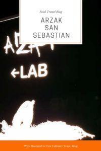 Arzak San Sebastian Price