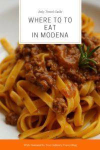 Modena Restaurant Modena Travel