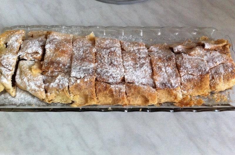 Czech cuisine - strudel