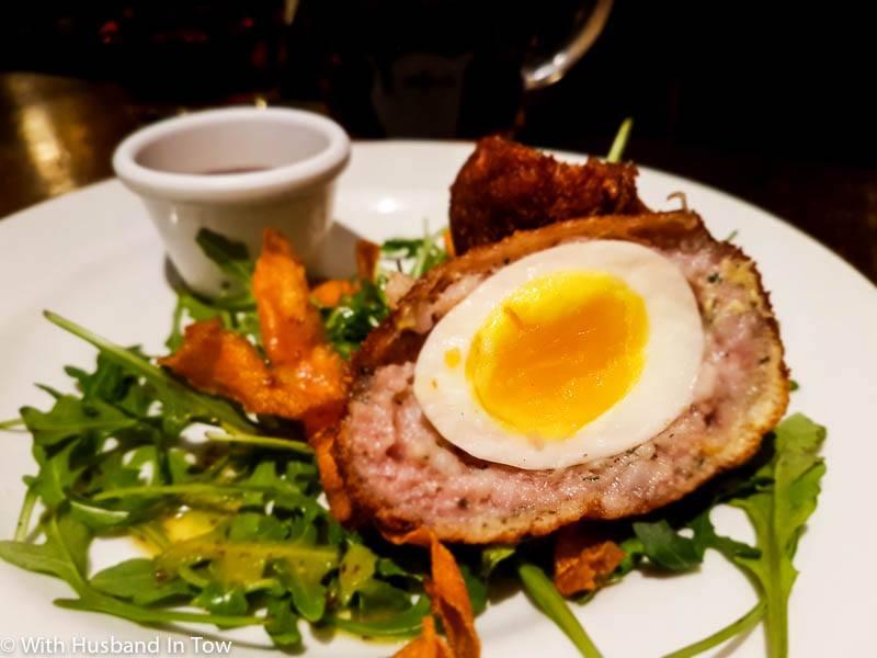 Scotch Egg Edinburgh - best restaurants in Edinburgh Scotland