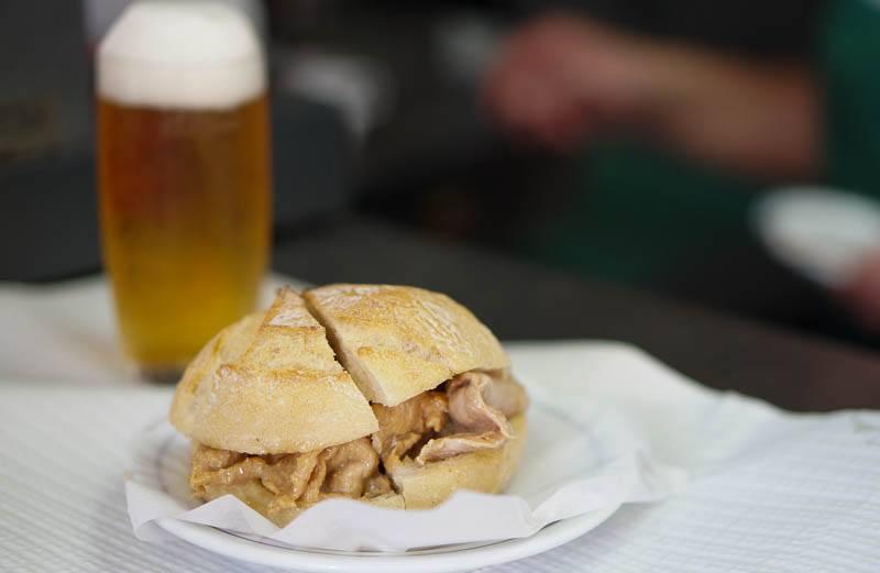 best bifana sandwich Lisbon