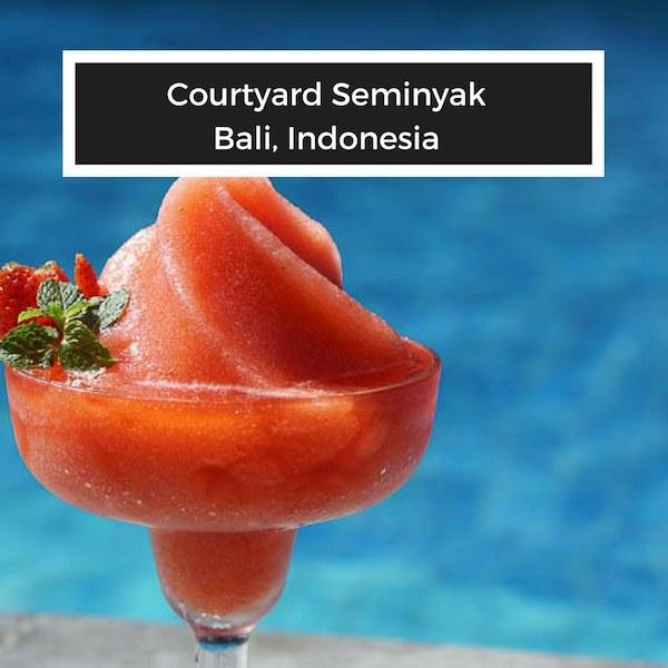 Southeast Asia Travel - Courtyard Seminyak Bali Hotel