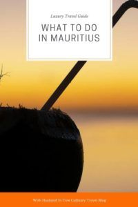 What to do in Mauritus