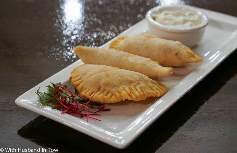 Jamaican Meat Patties at Sugar Mill Restaurant