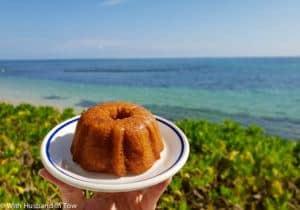 places to eat in Jamaica - Jamaican rum cake