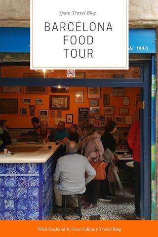 food lover tour Barcelona