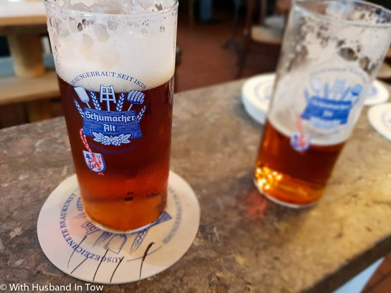 what to visit in dusseldorf - beer halls