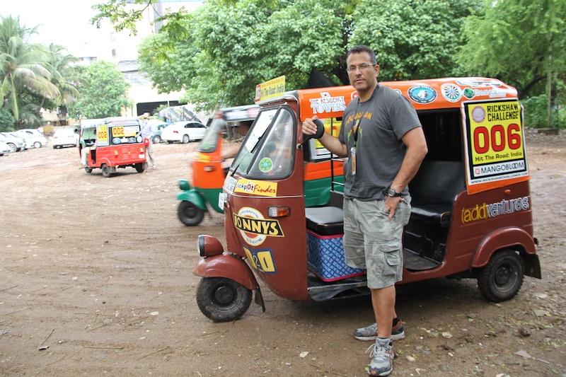 India Travel Blog - Traveling In India - Rickshaw Rally