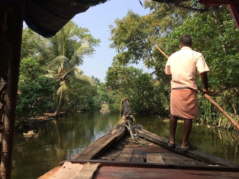 Traveling in India - India Travel Blog - Kerala Backwater