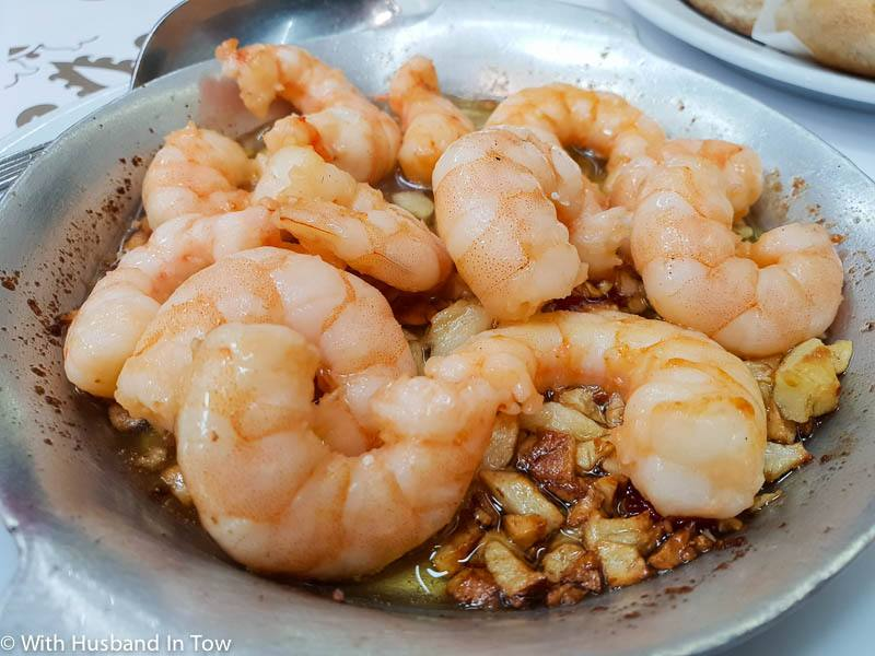 Ramiro Garlic Shrimp – Gambas a la Guillo
